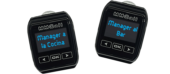 Restaurant Manager Pager