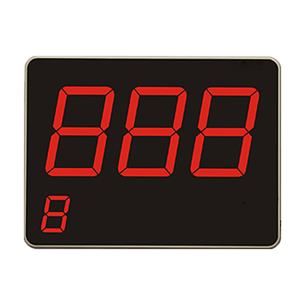 LED Display with 3 Digits
